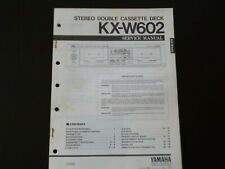 Original Service Manual Schaltplan  Yamaha KX-W602