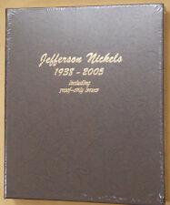 Dansco Jefferson Nickels with Proofs 1938-2005 Album #8113