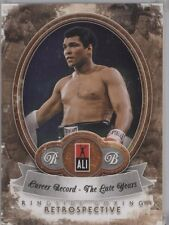 Muhammad Ali 2011 Ringside Boxing 2 Career Record The Late Years 6/10 #40