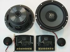 "MOREL TEMPO ULTRA 602 6,5""  2-WAY SYSTEM TOP QUALITY 120W RMS BRAND NEW WARRANTY"