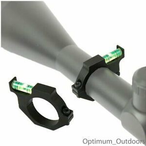 Rifle Air Gun Anti Cant Spirit Level to fit 30mm Scope Tube Bubble Mount UK