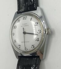 "Vintage RARE 1979 Timex Automatic ""classic"" mens Original dress Watch New Band"