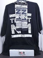 "Socwatees ""Trust N° One"" Graphic Men's Black T-shirt Size 3Xl (T & Socks)"