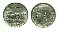 pcc1558_1) Vittorio Emanuele III (1900-1943) - 50 Centesimi Leoni 1920 L