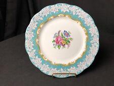 "Vintage Royal Albert Enchantment 9&1/4"" Luncheon or Dessert Plate Floral Center"