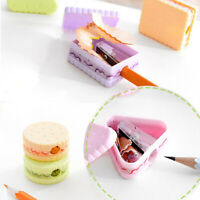 Boys Girls Stationery Student Gift School Cookie Creative Pencil Sharpener
