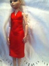 Red Halter Dress for Ellowyne Wilde Cami Pru Glinda