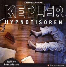 HÖRBUCH SCHWEDISCH: Lars Kepler, Hypnotisören, NEU