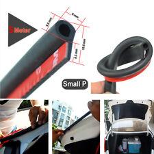 5M Universal Car Auto Door Seal Strip Small P Shape Dustproof Toughness Rubber
