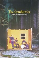 """THE CRANBERRIES """"THE FAITHFUL DEPARTED"""" U.S. PROMO POSTER - Group In Yellow Room"""