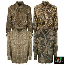 DRAKE WATERFOWL SYSTEMS EST CAMO FLYWEIGHT WINGSHOOTER'S SHIRT LONG SLEEVE