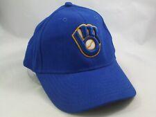 Milwaukee Brewers Miller Lite Hat Blue Hook Loop Baseball Cap