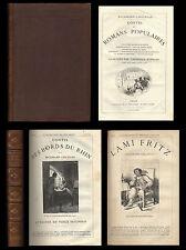 Contes et Romans Populaires CA 1880 Erckmann-Chatrian HETZEL illus. Schuler Riou