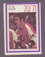 1970-71 Esso Hockey Stamp Joe Watson Philadelphia Flyers