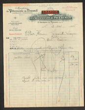 """SAINT-GEORGES DE RENEINS (69) USINE de VETEMENTS de TRAVAIL """"CREPIER"""" en 1926"""