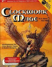 CLOCKWORK MAGE 728 SEALED AD&D D&D TSR Role Aids Module Dungeons & Dragons