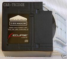 Magazine Cartridge Eclipse 1402 For 12 Disc Car Cd Changer 5122 By Fujitsu Ten