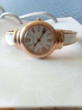 Vintage Ladies Pierre Cardin Gold Tone Quartz Watch Adjustable Bracelet Style