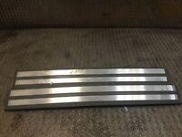 MERCEDES W210 Rear Door Sill Kick Plate Step Trim Set E CLASS W210 2106800535