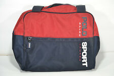 RALPH LAUREN Blue/Red Vintage Polo Sport Carry Bag Sz 11X10 Very Nice