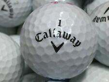 48 Callaway Ladies Solaire WHITE PEARL Used Golf Balls AAAA near mint FREE TEES
