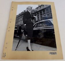 Photo Mode - Jean Baillie - Tirage argentique 1950's -