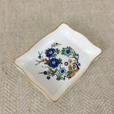 Aynsley Marlina Bibelot Plat Plateau Porcelaine Chinois Ching Dynasty Motif