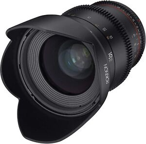 Rokinon 35mm T1.5 Cine DSX Wide Angle Lens for Canon EF # DSX35-C