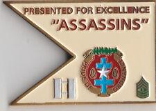 """Assassins 949 A  Challenge Coin 2 """" DIA"""