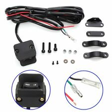3M ATV/UTV Winch Rocker Switch Handlebar Control Line Warn Accessories Universal