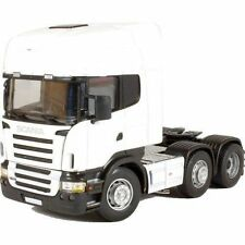 Cararama White SCANIA R Series Truck CAB Model Cr026 1 50