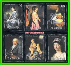 GAMBIA 2000 FAMOUS PAINTINGS by CORREGGIO ++ MNH ** COSTUMES, RELIGION, MADONNA