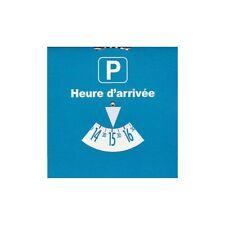 DISQUE DE STATIONNEMENT 15cm x 15cm disc parking limitation  EUROPÉEN ZONE BLEU