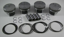 JDM NIPPON RACING FLOATING 86MM RRC CTR CIVIC TYPE R K20 FD2 PISTON SET NPR RING