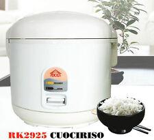 Macchina cuoci riso cuociriso cottura a vapore pentola elettrica vaporiera 5 lt