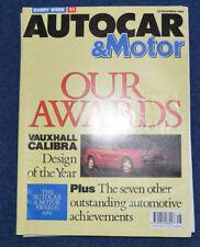 November Weekly Motor Magazines