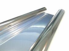 3x Silver Vinyl Wrap 75 cm 3x 3 M 9m Sun Protection Film Car Film Window Film