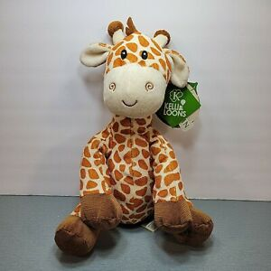 Jerry the 9 in Giraffe Plush made by First & Main created for Kelli*s Gifts NEW