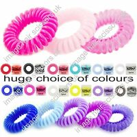 KODO Spiral Hair Bobbles PACK OF 3 Tangle Free No Damage ALL COLOURS STOCKED
