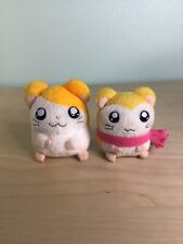 Hamtaro Pashmina Plush Stuffed Animal Lot Ham-Ham 2002 Hasbro