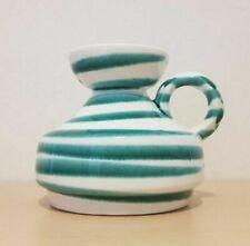 Gmundner Keramik grün geflammt Vase 9,5 cm schmal GK383 (1911DE10#) 05/2020