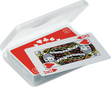 Go Travel Waterproof, Non-Tear, Wipe Clean Playing Cards inc Case (ref 936)