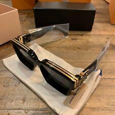 a3c9a7327d1 Louis Vuitton X Virgil Abloh Millionaire Sunglasses Z1165E BLACK NEW