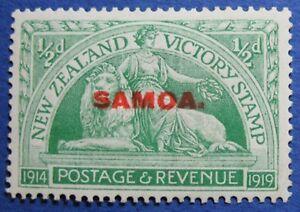 1920 SAMOA 1/2d SCOTT# 136 S.G.# 143 UNUSED CS02265