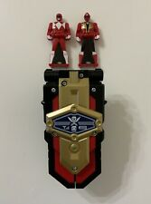 Power Rangers Super Megaforce Deluxe Morpher Flip Phone Electronic + 2 Red Keys