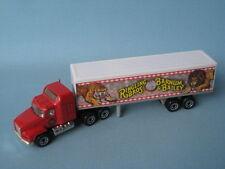 MATCHBOX CONVOY Camion Mack boîte RINGLING BARNUM CIRCUS coffret jouet clown modèle