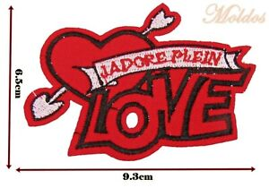 Love Heart Arrow Iron On Patch Embroidered Patch Badge Patches P220