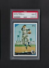 2009 Topps MICKEY MANTLE #7 Yankees PSA 10 GEM MINT