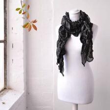 Bufandas y pañuelos de mujer de viscosa color principal negro