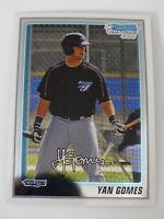 2010 Bowman Chrome #BCP125 Yan Gomes Toronto Blue Jays Rookie RC Baseball Card